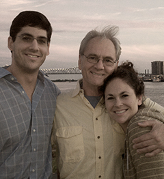 Don, Dana and Joseph Siegelman before Don reports to prison 9.11.12