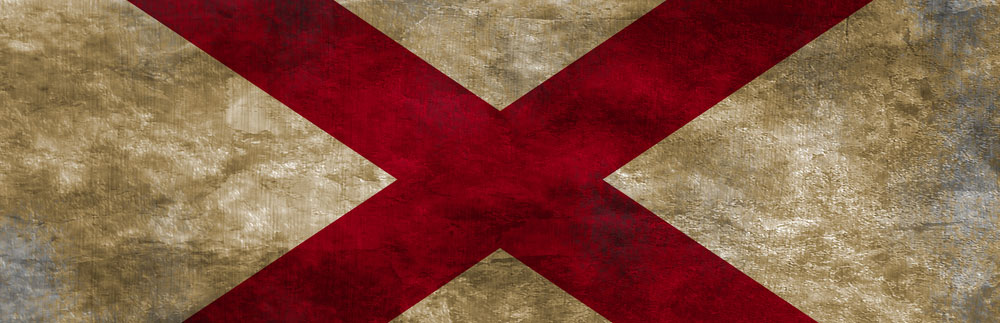 The Alabama State Flag